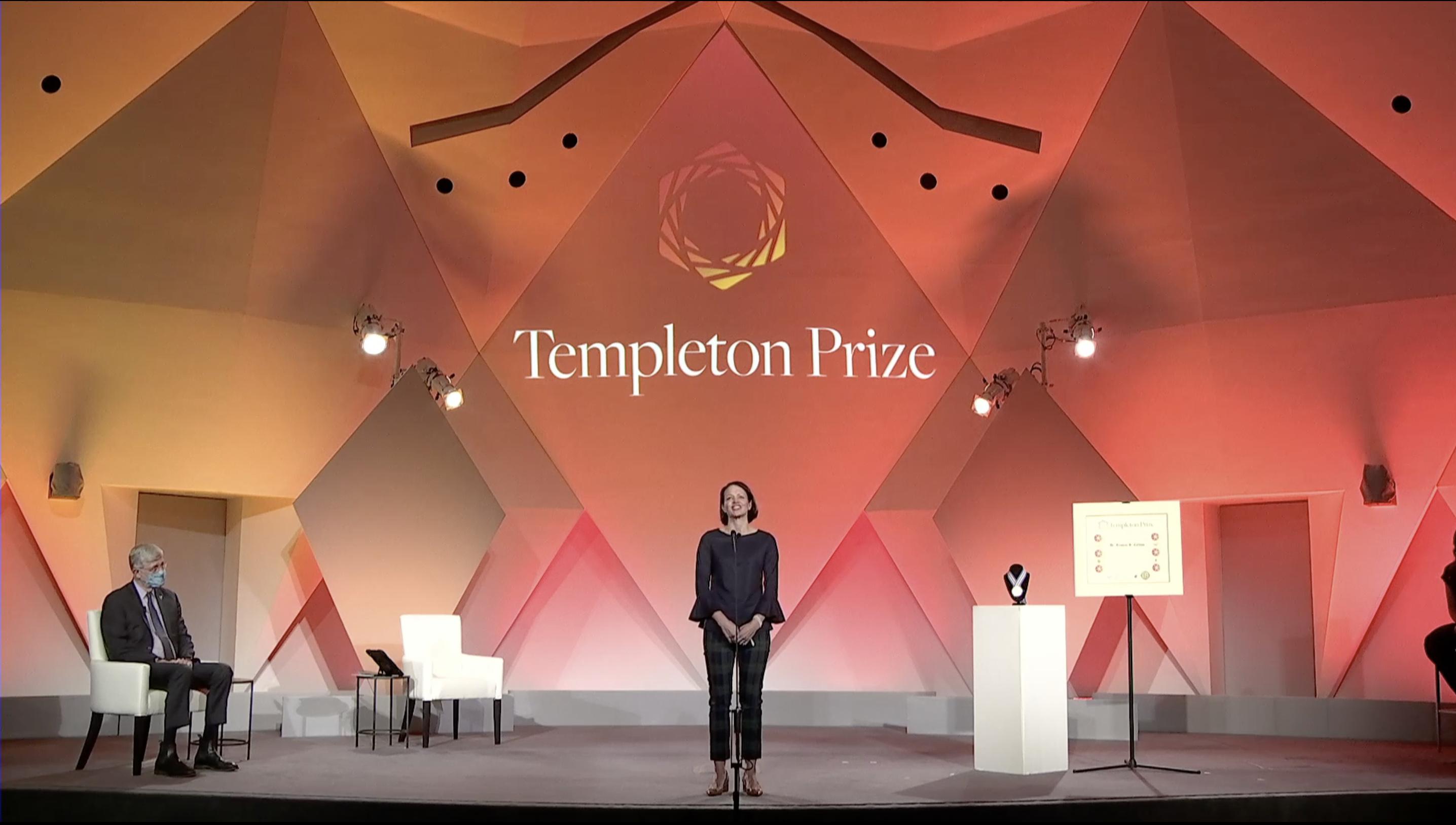 Tempeton Prize 2020